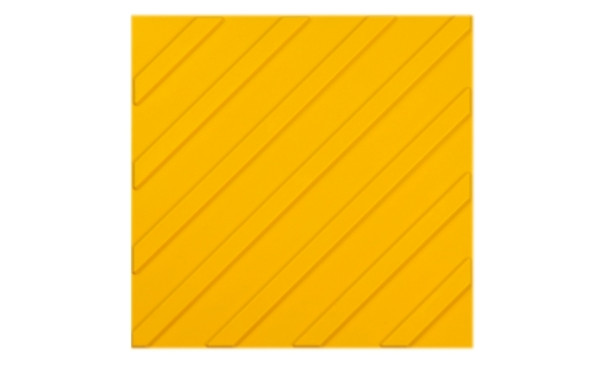 Тактильная плитка Диагональный риф пвх