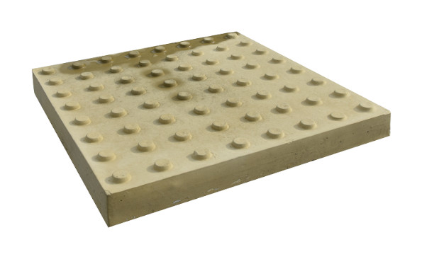 Тактильная плитка конусный риф продольный порядок