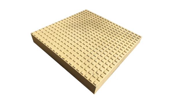 Тактильная плитка квадратный риф